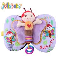 澳洲Jollybaby婴儿早教布书宝宝布书蜜蜂蝴蝶翅膀布书认知布书