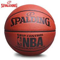 斯伯丁Spalding篮球耐磨室内室外通用PU比赛球NBA掌控74-604Y