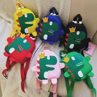 儿童包包1-3-5岁恐龙男童双肩包女孩可爱卡通背包宝宝幼儿园书包