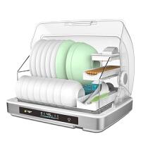 消毒柜碗架碗柜 碗筷收纳盒沥水厨房置物架放碗餐具家用带盖筷子