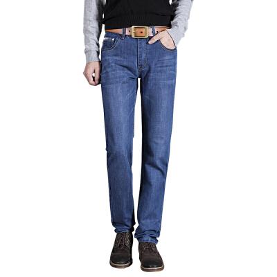 1号牛仔男长裤时尚新款休闲牛仔裤韩版修身直筒长裤2000