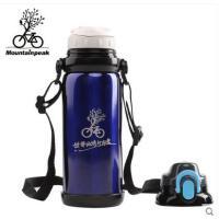 美观大容量保温壶运动户外骑行水杯保冷 800ml自行车水壶不锈钢保温杯