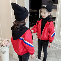 女童皮衣2018秋冬新款潮洋气儿童小皮衣外套夹克短款加绒韩版大童