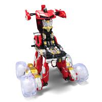 男童电动遥控车男孩儿童玩具车 充电越野翻斗变形异形怪翻转特技车