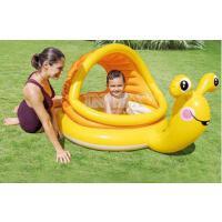 卡通泳池充气遮阳戏水泳池儿童充气婴儿游泳池小孩家庭充气水池海洋球池