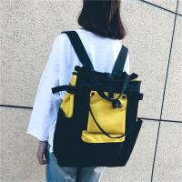 双肩包原宿大容量背包女百搭高中学生书包