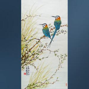 清华美院  冯维智  花鸟  4