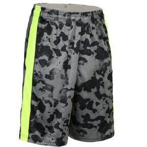 男慢跑速干裤搭配运动短裤迷彩篮球裤MA18