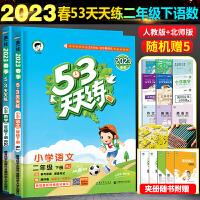 53天天练二年级上 册语文数学全2册2019秋人教版部编版
