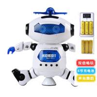 ?智能炫舞电动跳舞机器人360度旋转灯光音乐儿童玩具礼物 官方标配