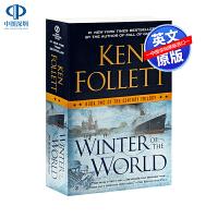 英文原版 Winter of the World 世界的冬天 世纪三部曲系列2 英文小说 肯・佛雷特 Ken Folle