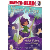 英文原版 紫色精灵得到她的翅膀 Violet Fairy Gets Her Wings