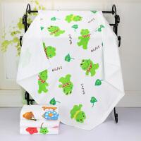 棉纱布浴巾 大童被 儿童浴巾空调被120*140cm