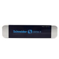 施耐德Schneider德国原装进口正品金属笔盒文具盒钢笔盒子铅笔盒 钢笔盒子 收纳盒