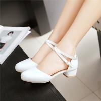 夏季女童高跟凉鞋韩版包头公主大童中学生舞蹈鞋