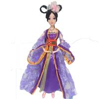 芭比娃娃的衣服批发古装宫廷套装古代贵妃古装服 单拍衣服(不含娃娃)