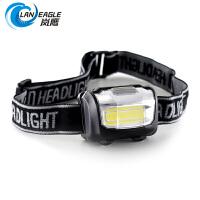 头灯强光迷你小超亮头戴式矿灯夜钓新型COB灯珠泛光工作灯 1