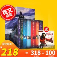 现货 哈利波特1-7全集 英文原版 Harry Potter 小说7本套装+哈8 英国版 Bloomsbury出版社 J