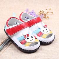 男女宝宝凉鞋包头机能鞋软底防滑幼儿学步凉鞋
