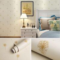 墙纸自粘卧室壁纸自粘温馨家具翻新防水贴纸装饰墙贴画宿舍