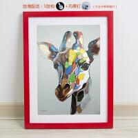 实木相框定做16 20 24寸A3 A4创意海报框装裱画框挂墙大尺寸定制