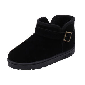WARORWAR新品YM170-3-2冬季韩版平底舒适女士雪地靴