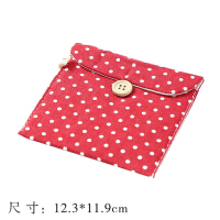 卫生巾收纳包大容量韩国可爱棉包袋子棉麻布艺卫生棉袋大姨妈巾包
