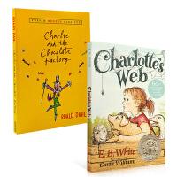 英文原版 Charlotte's Charlottes Web / Charlie and the Chocolate