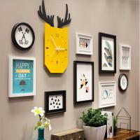 创意实木墙壁挂件现代简约客厅家居壁饰卧室背景墙挂饰墙上装饰品