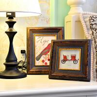 实木相框摆台创意挂墙6 7 24寸 a4婚纱照放大洗照片相片框架定做