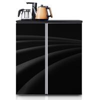 德姆勒(DEMULLER) 188L升卧式冰箱 茶吧冰箱 茶吧卧式双开门迷你家用宿舍冰箱保鲜 双门电冰箱小型