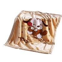 儿童毛毯加厚婴儿被子冬季单人宿舍学生双层宝宝午睡毯小号 双层加厚200x230cm 约7斤