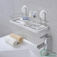强力吸盘置物架 卫生间置物架壁挂厨房浴室架子 免打孔收纳架