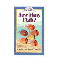 #英文原版 How Many Fish? [有多少条鱼?] [平装] [3-5岁]