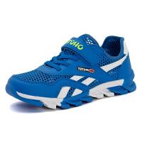男童鞋子春秋季透气大童运动鞋一脚蹬男孩小学生跑步鞋休闲儿童鞋子