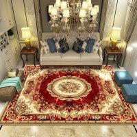 欧式客厅地毯沙发茶几地毯卧室床边毯榻榻米满铺地毯地垫家用定制 80cm x 120cm