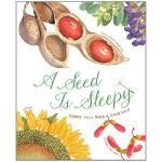 """A Seed is Sleepy 英文原版 """"美丽成长""""生命科普绘本系列:种子,如此酣睡"""