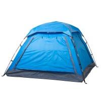 户外3-4人双人全自动帐篷家庭套装野营露营防雨野外帐篷