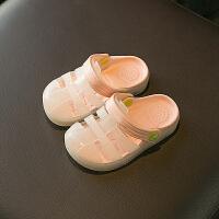 儿童洞洞鞋男夏女童拖鞋宝宝1-3岁防滑婴幼儿小孩凉拖鞋2沙滩鞋SN0980