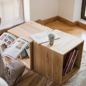 【领券减40】N空间 北欧ins百变多功能方格书柜 手工DIY酒吧咖啡馆收纳装饰壁挂柜