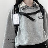 YOHOO!/原创书包双肩包背包女韩版大高中学生初中生百搭潮流ins男