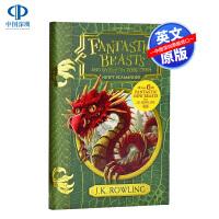 英文原版Fantastic Beasts Where to Find Them 神奇动物在哪里 课本 哈利波特 新版 魔