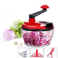 手动切菜绞菜机 饺子馅碎菜机 器家用绞肉机绞馅机 搅拌机