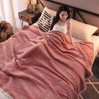 3层毛毯被子珊瑚绒毯子双人床单加厚秋冬季保暖单人法兰绒宿舍