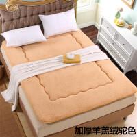 榻榻米加厚学生床垫宿舍单人1.2米海绵床褥子双人1.8m1.5米软垫被
