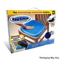 egg sitter 蜂窝凝胶坐垫鸡蛋坐垫办公室椅垫汽车座垫 四季通用 坐垫+布套+彩盒 38X32X4.5cm