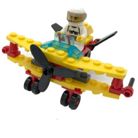 塑料积木拼插儿童男孩子智力拼装玩具6-7-8-10岁组装