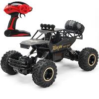 超大型合金遥控汽车越野车四驱充电动高速攀爬大脚车男孩儿童玩具 抖音