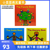 英文原版 The Mommy Book等 Todd Parr亲情3册绘本 【2~5岁】