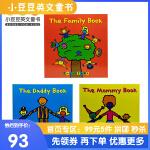 英文原版 The Mommy Book等 Todd Parr亲情3册绘本 【2~5岁】